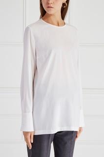 Шелковая блузка Brunello Cucinelli