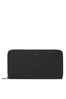 Кожаный кошелек Dolce & Gabbana
