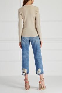 Пуловер из шелка и кашемира Brunello Cucinelli