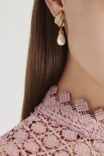 Серьги с жемчужинами Christian Dior Peremotka