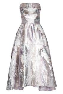 Платье с асимметричной юбкой Toni Maticevski