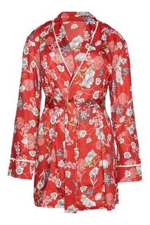 Жакет-кимоно с принтом I Am Studio