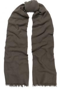 Кашемировый шарф с необработанным краем Rick Owens