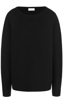 Пуловер свободного кроя с круглым вырезом Dries Van Noten