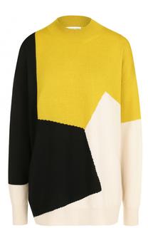 Пуловер свободного кроя с круглым вырезом и принтом Dries Van Noten