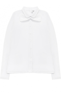 Блуза прямого кроя с декорированной бабочкой Aletta