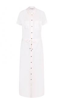 Приталенное платье-рубашка с коротким рукавом Heidi Klein