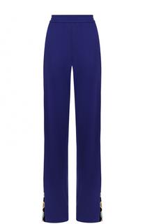 Широкие брюки с контрастными лампасами Emilio Pucci