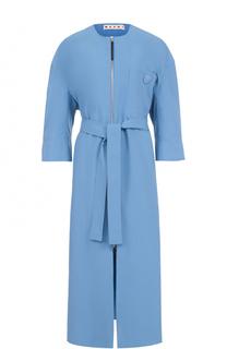 Пальто с укороченным рукавом и поясом Marni