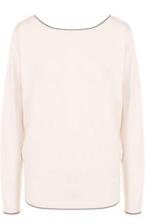 Пуловер прямого кроя с V-образным вырезом на спинке Paul&Joe Paul&Joe