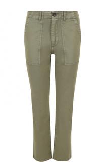 Укороченные брюки прямого кроя Ag