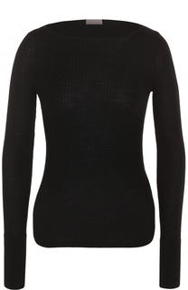 Пуловер фактурной вязки с вырезом-лодочка MRZ
