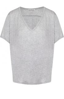Укороченная футболка свободного кроя Acne Studios