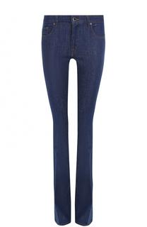 Однотонные расклешенные джинсы Victoria by Victoria Beckham