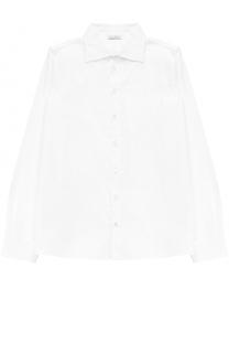 Хлопковая рубашка прямого кроя Dolce & Gabbana