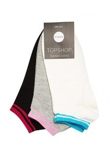 Комплект носков 3 пары Topshop