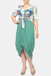 Комплект: платье, болеро STF