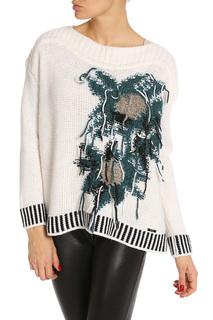 Пуловер с вышивкой Liu Jo