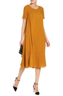 Платье с воланом макси Alina Assi