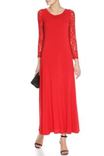 Платье-футляр макси с кружевом Alina Assi