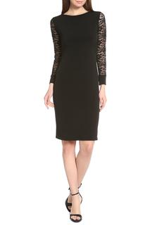 Платье-футляр с кружевом миди Alina Assi