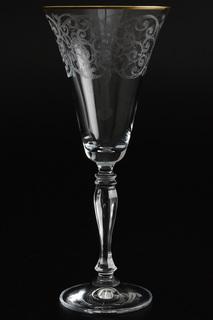 Бокалы для вина 230 мл, 6 шт. Bohemia Crystall