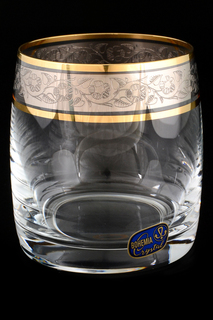 Набор стаканов для воды 6 шт. BOHEMIA CRYSTAL