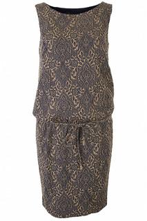 Shop Золотистые women s dresses Luisa Spagnoli at online shop Lookbuck 5e3d057b947