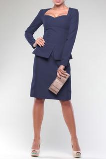 Офисное платье с баской Laura Bettini