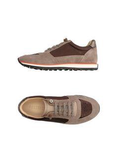 Низкие кеды и кроссовки Peserico