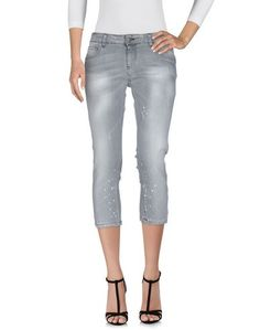 Джинсовые брюки-капри Yoshii