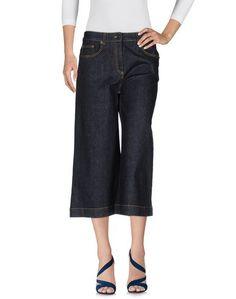 Джинсовые брюки-капри Ottodame