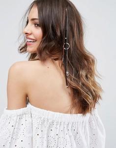 Фестивальное украшение для волос с подвесками ASOS - Мульти