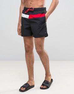 Черные шорты для плавания Tommy Hilfiger - Черный