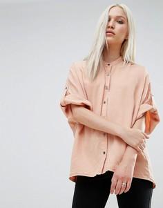 Рубашка прямого кроя Noisy May Alex - Оранжевый