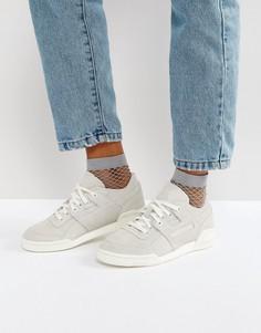 Бежевые классические кроссовки Reebok Decon - Белый