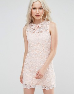 Кружевное платье с маками Foxiedox - Розовый
