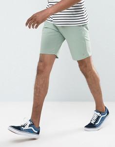 Зеленые шорты чиносы Farah Hawk - Зеленый