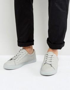 Серые кроссовки с мятым эффектом ASOS - Серый