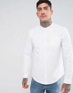 Рубашка с воротником на пуговицах Another Influence - Белый