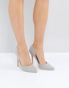 Светло-серые туфли-лодочки Glamorous DOrsay - Серый