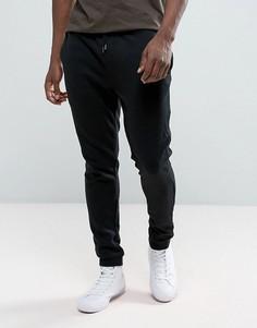 Спортивные штаны с манжетами Brave Soul - Черный