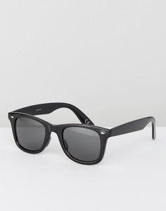 Черные квадратные солнцезащитные очки ASOS - Черный