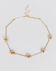 Ожерелье ASOS - Золотой