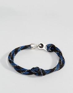 Темно-синий веревочный браслет Icon Brand - Темно-синий