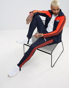 Изготовленный в Японии спортивный костюм ограниченной серии чернильного цвета adidas Originals BQ4936 - Темно-синий