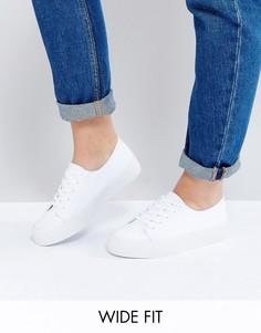 Кроссовки для широкой стопы ASOS DESTINY - Белый