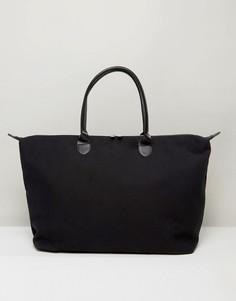 Черная парусиновая дорожная сумка Mi-Pac - Черный