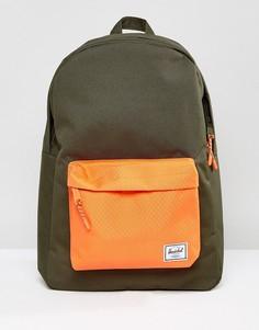 Зеленый классический рюкзак Herschel Supply Co. - Зеленый