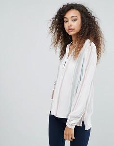 Рубашка с абстрактным принтом mbyM - Мульти